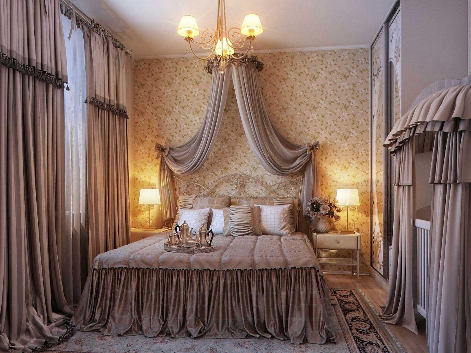 как выбрать шторы в спальню фото